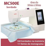 Máquina de Bordar MC500E Janome