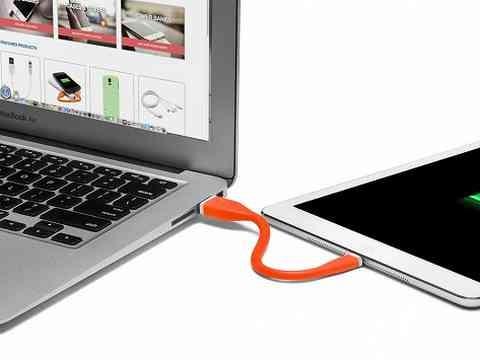 Cabo de dados silicone flexivel 15cm kingo