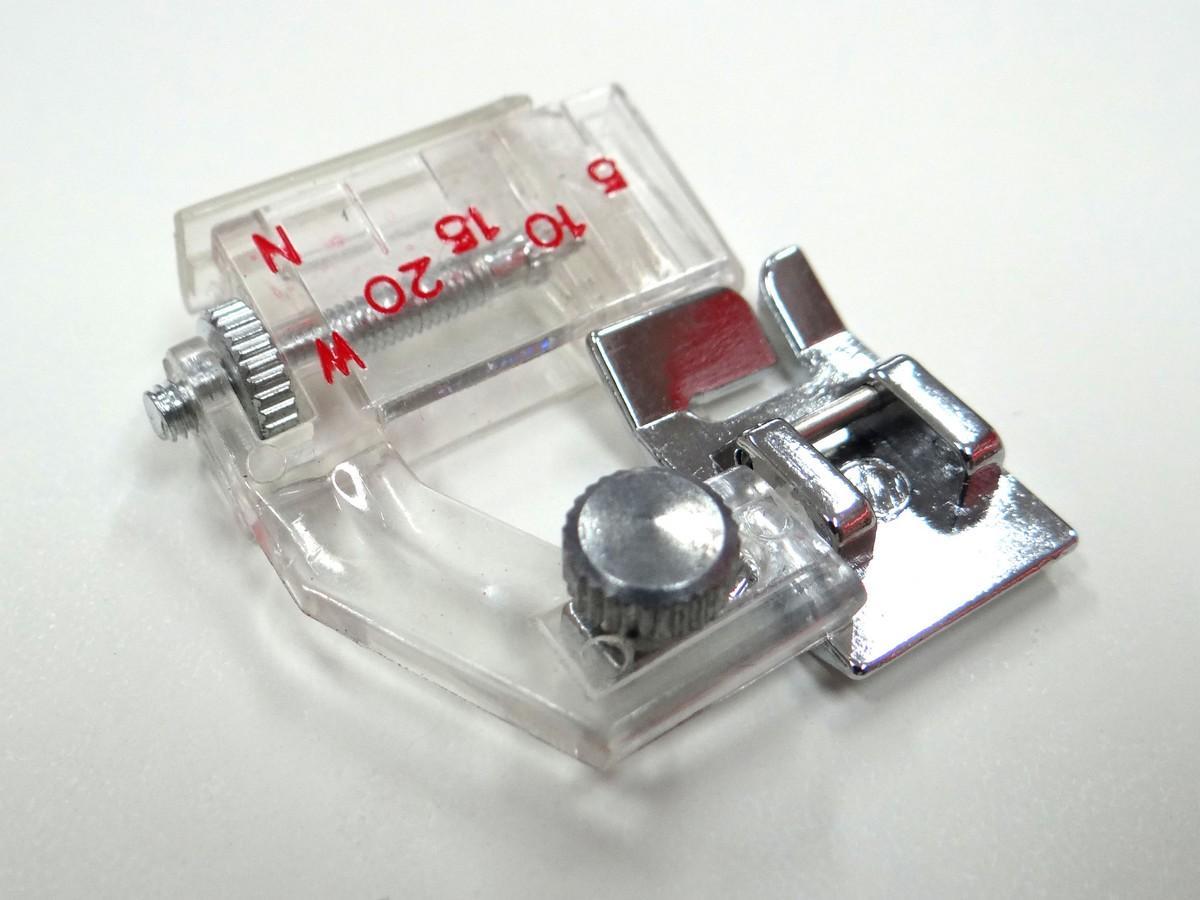 Calcador de Vies Regulavel de 0,5 a 2,0cm
