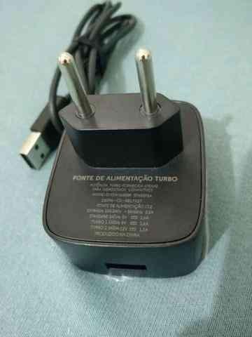 Carregador Motorola Turbo Charger Carga Rapida