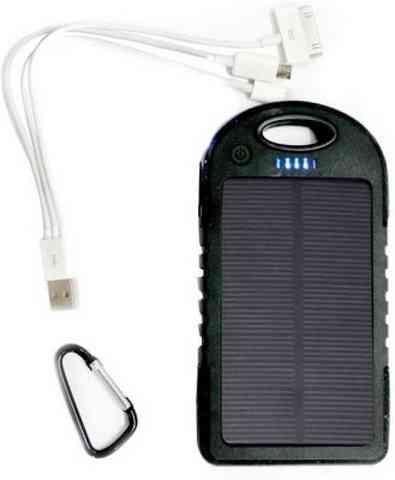 Carregador Solar Power Bank Charger Usb Made in China