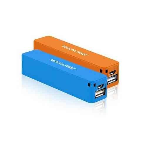 Carregador USB Portatil Power Bank Multilaser - CB078