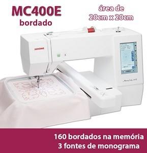 Máquina de bordar MC400E Janome