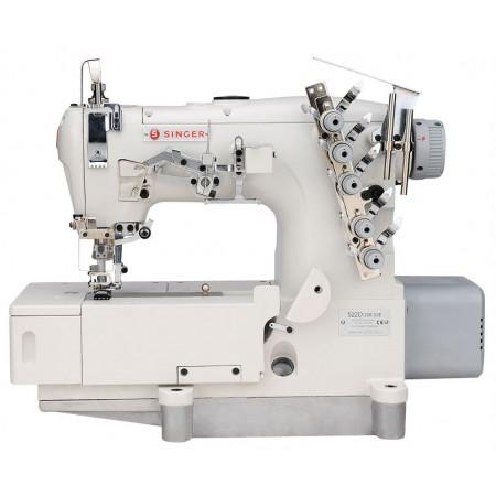 Máquina de Costura Industrial Galoneira de Base Plana 522D-364-31 Singer
