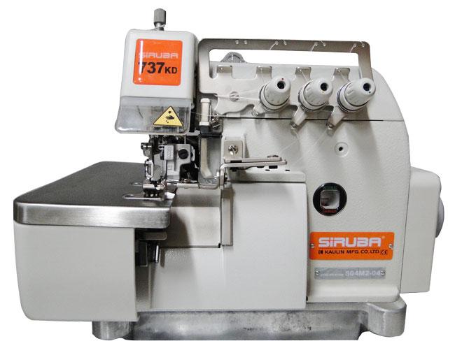 Máquina de Costura Industrial Overlock Siruba 737K-504M2-04
