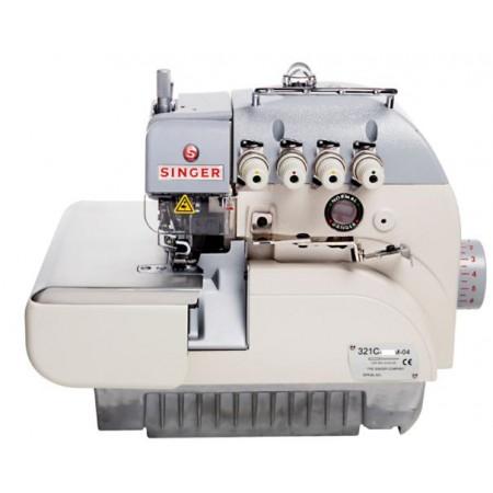 Máquina de Costura Industrial Overlock 321C-241M-24E Singer