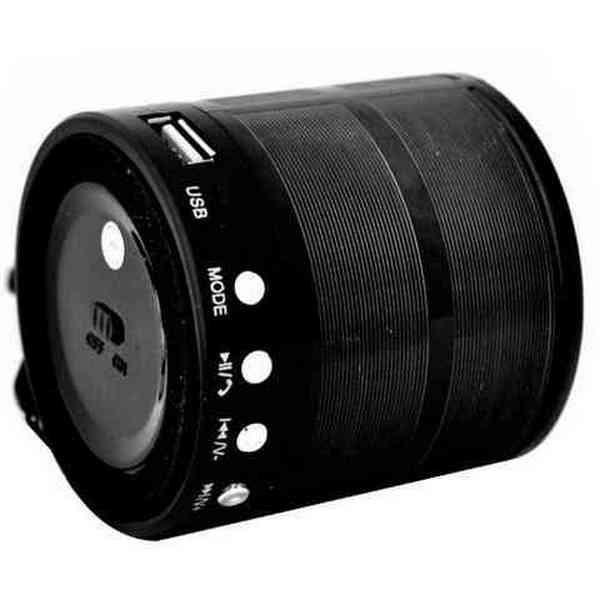 Mini Caixa de Som Portátil Speaker WS-887