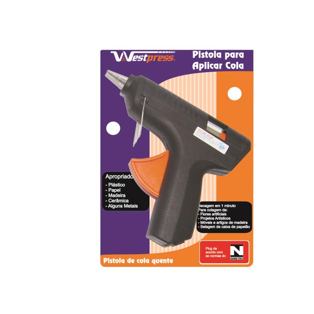 Pistola Cola Quente Bivolt 40w Potência Westpress