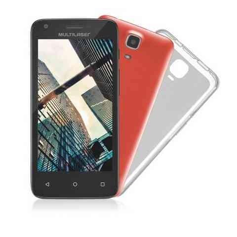 Smartphone Multilaser MS45 S Colors Preto Tela 45