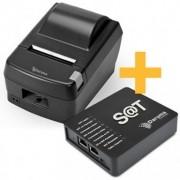 KIT SAT Daruma DS-100I + Impressora DR800L USB SERRILHA