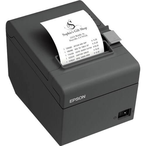 Impressora térmica Epson modelo TM-T20 ETHERNET / GUILHOTINA  - Loja Campinas WCOM Soluções