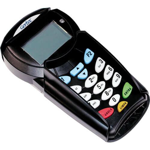 Pin Pad Gertec PPC910 Homologado para TEF USB  - Loja Campinas WCOM Soluções