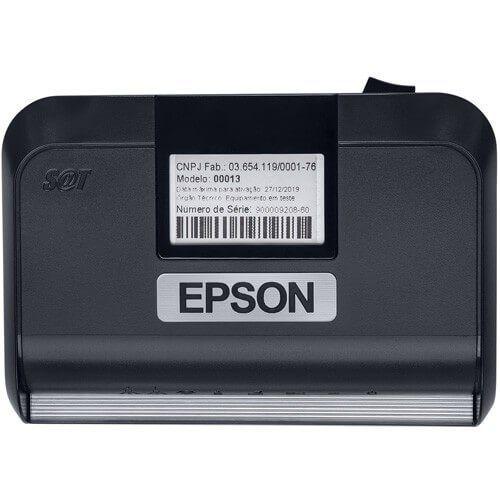 SAT fiscal EPSON modelo A10  - Loja Campinas WCOM Soluções