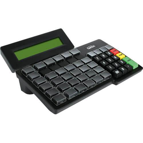 Teclado Programável TEC 55 com Display - Gertec  - Loja Campinas WCOM Soluções
