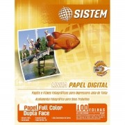 Papel  FULL COLOR DUPLA FACE | A4 |100 Folhas | 95g/m²