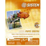Papel GLOSSY PLUS | 20 Folhas | A4 | 230g/m²