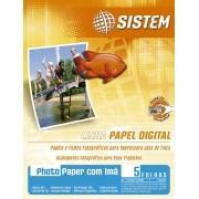 PHOTO PAPER COM IMÃ | A4 | 5 FOLHAS | 200g/m²