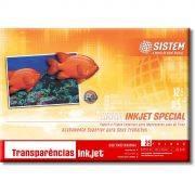 TRANSPARÊNCIA Inkjet SUPER A3 | 25 Folhas | 100 micra