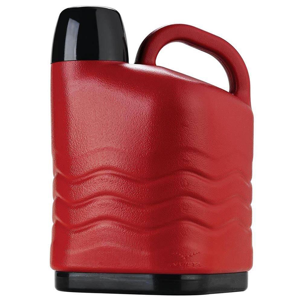 Botijão Térmico 5Litros Quente/Frio Vermelho - Invicta