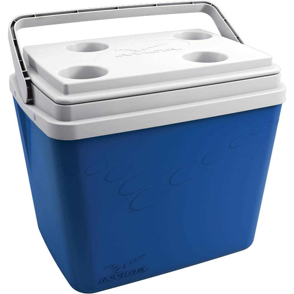 Caixa Térmica Pop Azul 34 Litros - Invicta  - AVENTÚ