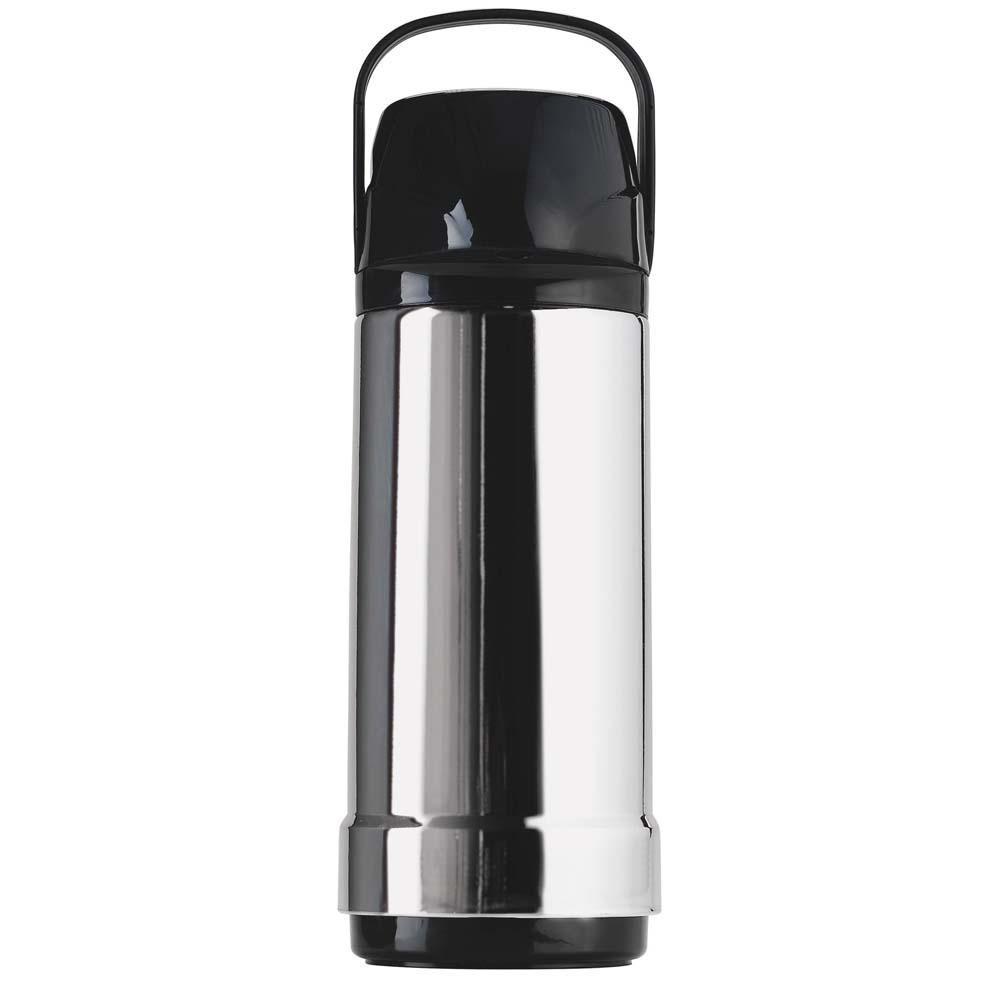 Garrafa Térmica 1 Litro GLT Pressão 7621 Cromada - Invicta