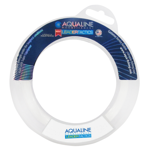 Linha Leader Tactics 0,25mm 60m Transparente - Aqua Line