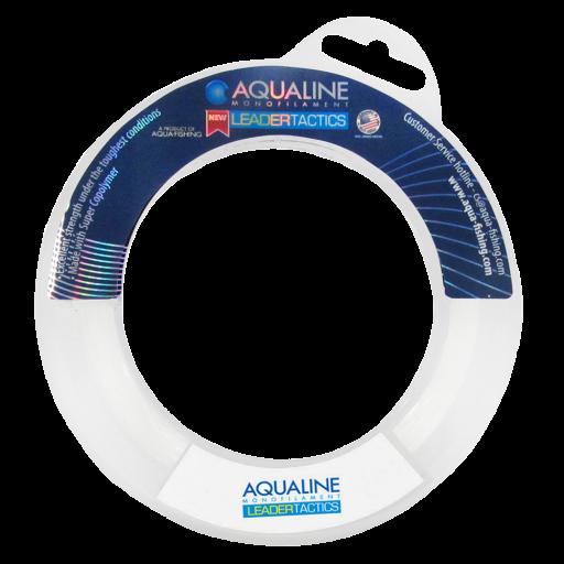 Linha Leader Tactics 0,28mm 60m Transparente - Aqua Line  - AVENTÚ