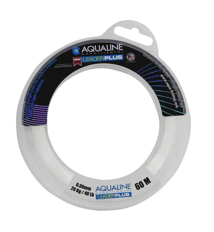 Linha Sphere Leader Plus 0,60mm 60m 40LB Transparente - Aqua Line  - AVENTÚ