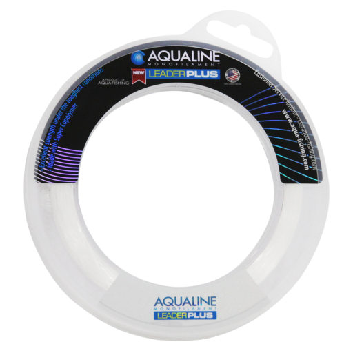 Linha Sphere Leader Plus 1,00mm 60m 130LB Transparente - Aqua Line  - AVENTÚ