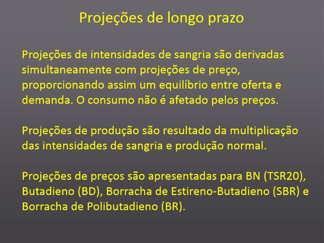 Rubber market forecasts - Português