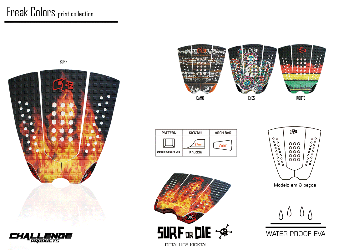 Deck Freak Colors Camo
