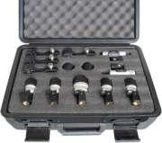 Kit de Microfones p/ Bateria Yoga MXDS 7 - Transa Som Instrumentos Musicais