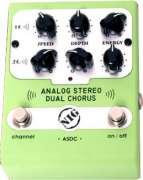 Pedal Nig ASDC Stereo Dual Chorus - Transa Som Instrumentos Musicais