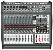 Mesa Amplificada Behringer Europower PMP3000 - Transa Som Instrumentos Musicais