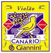Encordoamento Giannini para Violão Nylon Série Canário GENWB com Bolinha - Transa Som Instrumentos Musicais