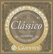 Encordoamento Giannini para Violão Nylon Série Clássico GENWPM Tensão Média - Transa Som Instrumentos Musicais