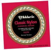 Encordoamento D Addario para Violão Nylon EJ27N Nylon Transparente - Tensão Normal - Transa Som Instrumentos Musicais