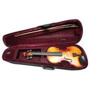 Violino Nhureson 4/4 NH IV Estudo c/ Estojo Térmico - Completo - Transa Som Instrumentos Musicais