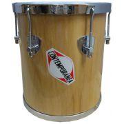 Repique de Mão Contemporânea Madeira 10 Pol. - Transa Som Instrumentos Musicais