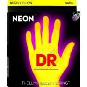 Encordoamento DR para Baixo Neon NYB Amarela - 0.45 � 0.105