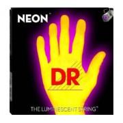 Encordoamento DR para Guitarra Neon NYE Amarela - 0.09 - 0.42