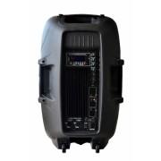 Caixa Amplificada CSR 5515A, c/ Entradas USB/SD, Efeito Echo, 300W RMS - Transa Som Instrumentos Musicais