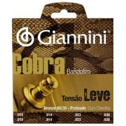 Encordoamento Giannini para Bandolim com Chenilha GESBB .010-.030