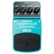 Pedal Behringer CS 400 Compressor / Sustainer p/ Guitarra