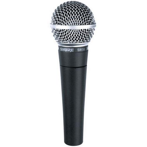 Microfone de Mão Shure SM58 S  - Transa Som Instrumentos Musicais