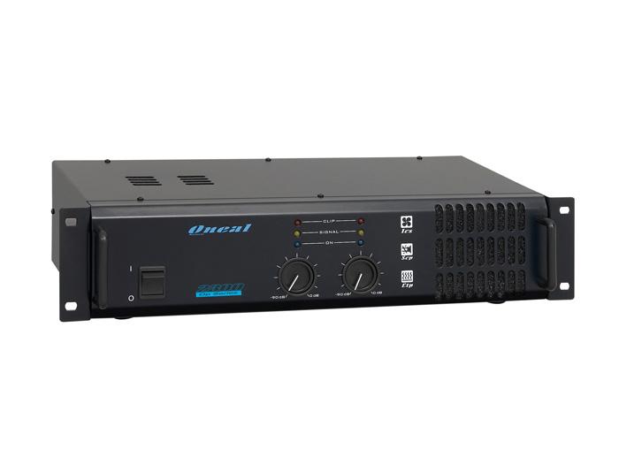 Amplificador de Potência Oneal OP 2400  - Transa Som Instrumentos Musicais