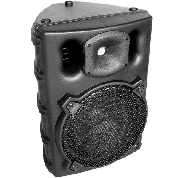 Caixa Amplificada CSR 3000A, c/ Entradas USB/SD, Efeito Echo, 200W RMS  - Transa Som Instrumentos Musicais