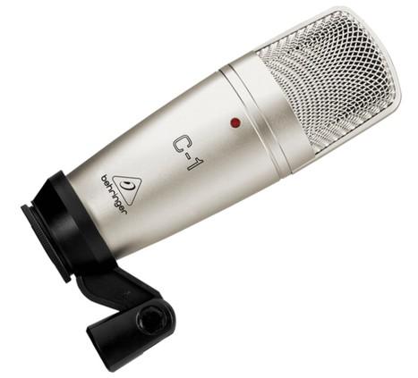 Microfone de Estúdio Behringer C1  - Transa Som Instrumentos Musicais