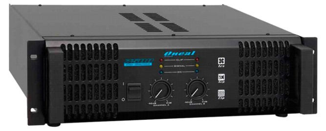 Amplificador de Potência Oneal OP 7500  - Transa Som Instrumentos Musicais