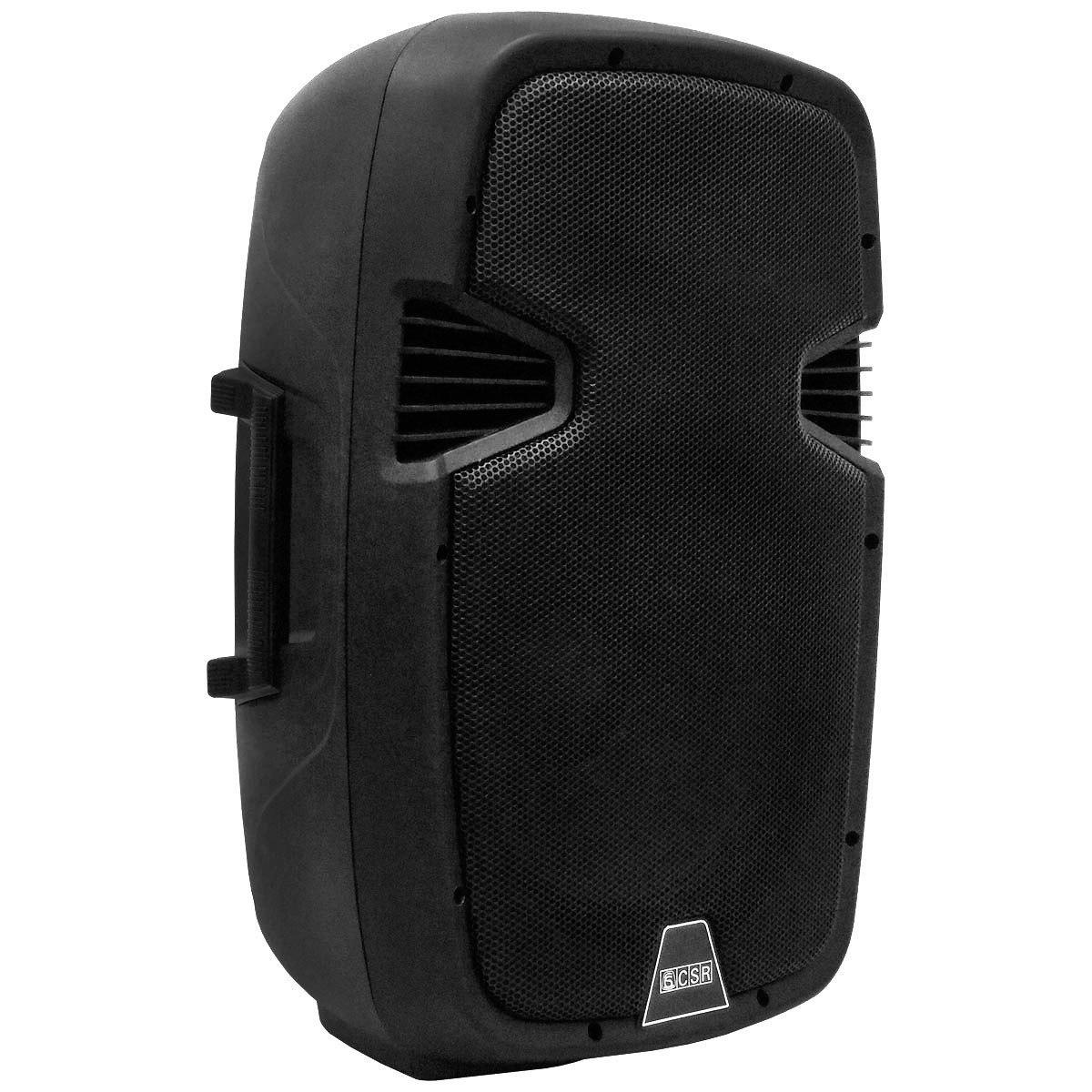 Caixa Amplificada CSR 5515, Passiva,300W RMS  - Transa Som Instrumentos Musicais